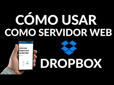 Cómo usar Dropbox como Servidor Web