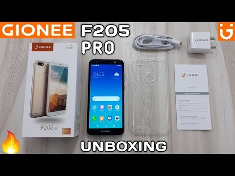 Gionee F205 Pro Unboxing & Review | Budget Price Smartphone