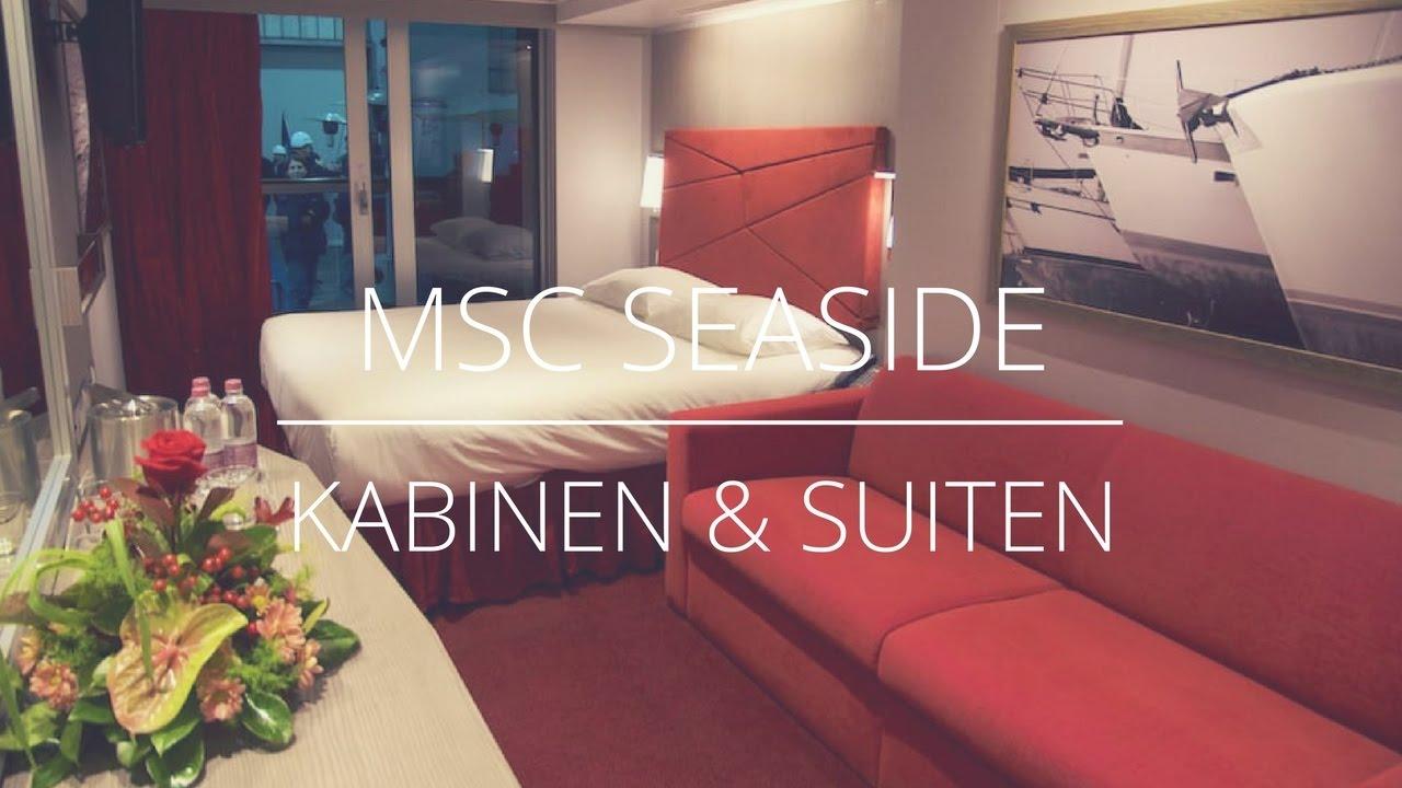 Msc Seaside Kabinen Amp Suiten Youtube