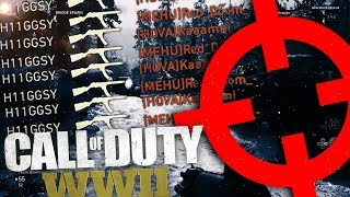 HOW TO HAVE BETTER AIM ON COD WW2! WINNING GUNFIGHTS ON CALL OF DUTY WW2!