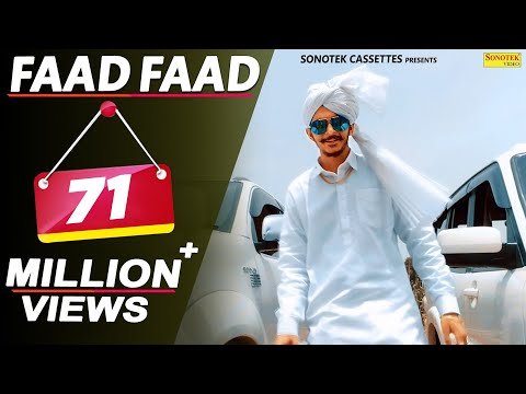 Gulzaar Chhaniwala - FAAD FAAD (Official) | Latest Haryanvi Songs Haryanavi 2018 | Sonotek