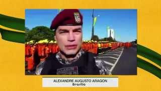 Militar da Força Nacional de Segurança Pública fala sobre a honra de desfilar em Brasília