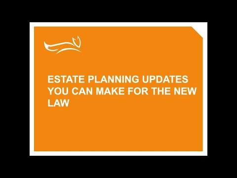 Webinar: Estate Planning and Charitable Giving with Parkinson's