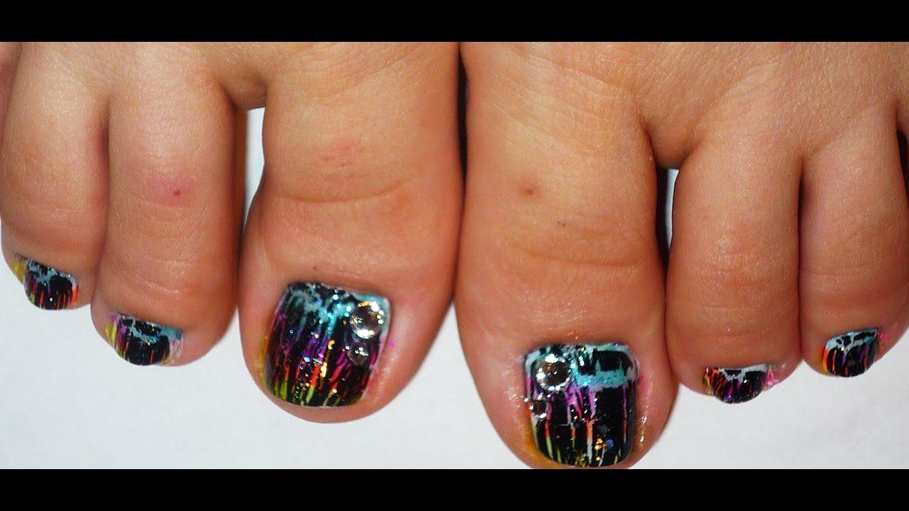Toe Nail Art Designs Youtube