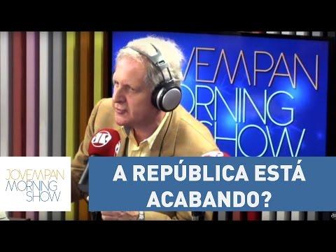 """Nunes: """"A república está acabando? Não! O que está morrendo é o Brasil da roubalheira"""""""