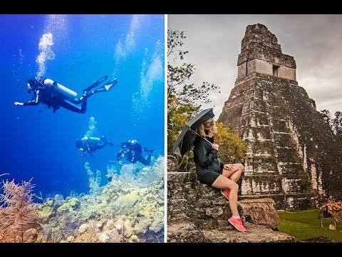 SEA TO SKY ADVENTURES  // Belize + Guatemala