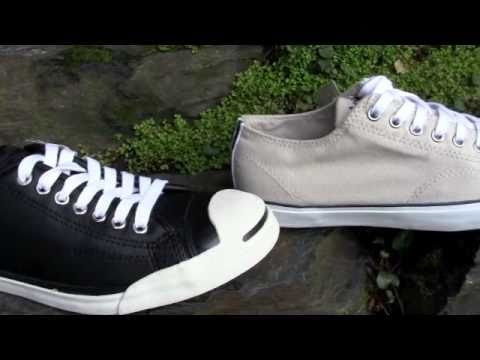 cbe12c92bf7e New Converse Jack Purcell Shoes - YouTube