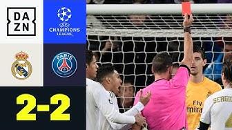 Strittiger VAR überschattet PSG-Comeback: Real Madrid - PSG 2:2 | UEFA Champions League | DAZN