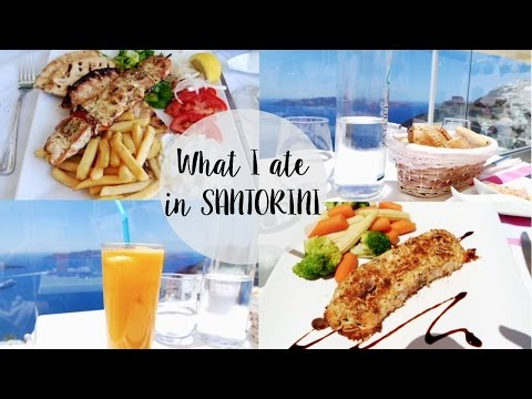What I ate in Santorini