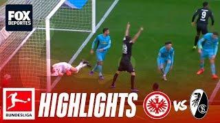 Eintracht Frankfurt 3-1 Freiburg   HIGHLIGHTS   Jornada 18   Bundesliga