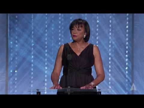 Cheryl Boone Isaacs opens the 2016 Governors Awards