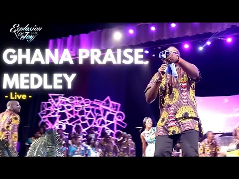 Ghana Praise Medley 2015 - Joyful Way Inc. at Explosion of Joy 2015