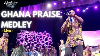 Ghana Praise Medley Recorded live by Joyful Way Inc at Explosion of Joy 2015