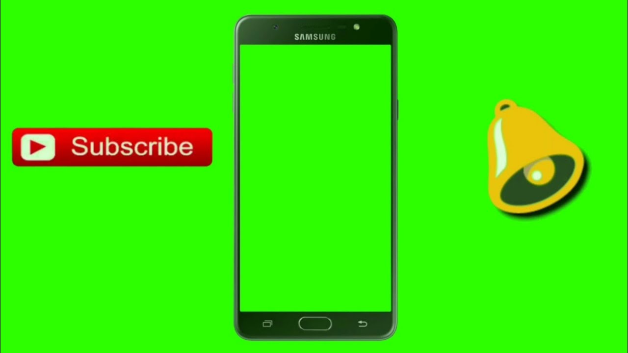 green screen intro templates with bell icon subscribe button youtube