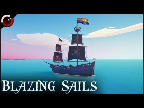 THE BEST PIRATE EVER! Amazing Ship Combat | Blazing Sails: Pirate Battle Royale Gameplay |