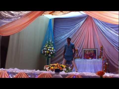 Magan's stage debut at Andhra Hall