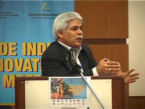Sh  Rajesh Tuli, Coral Telecom during Inaugural TCOE Innovation Meet on 31 Aug15