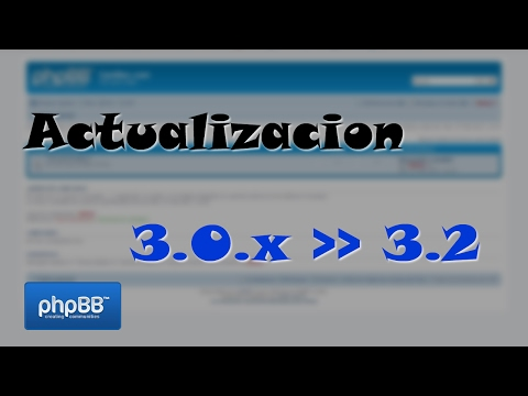[Tutorial] Actualización de phpBB 3.0 a 3.2