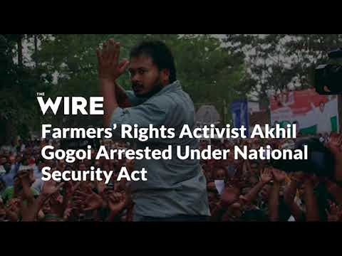 """Wire Magazine says """"Farmers' Rights Activist Akhil Gogoi Arrested Under National Security Act"""