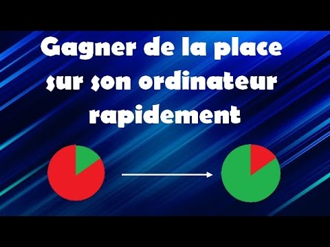 tuto comment gagner de l 39 espace sur son ordinateur rapidement 1 2 youtube. Black Bedroom Furniture Sets. Home Design Ideas