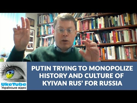 Ukraine & Rus' part of Europe. Putin trying to monopolize Rus' for Russia