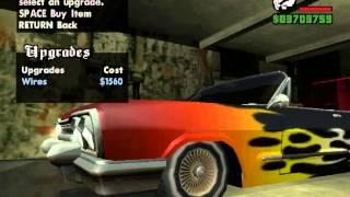 GTA SA arabaya modifiye çekmek