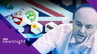 Vote Leave mastermind Dominic Cummings and his role in Downing St - BBC Newsnight