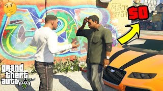 GTA 5   What Happens if You DONT Have Enough MONEY For Lamar funny