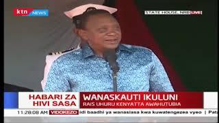 Rais Uhuru awasifia wasichana, asema mawaziri bora miongoni mwao ni wanawake