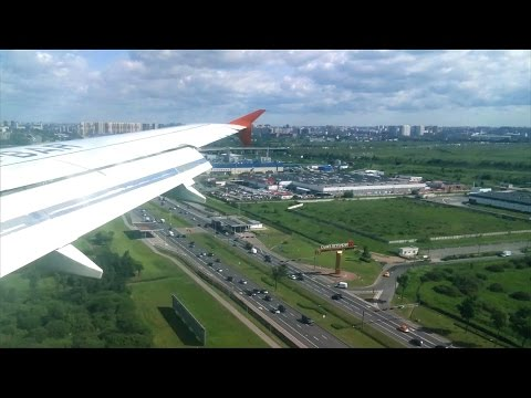 Rossiya Airlines  flight from Rostov-on-Don to Saint Petersburg, Airbus A319