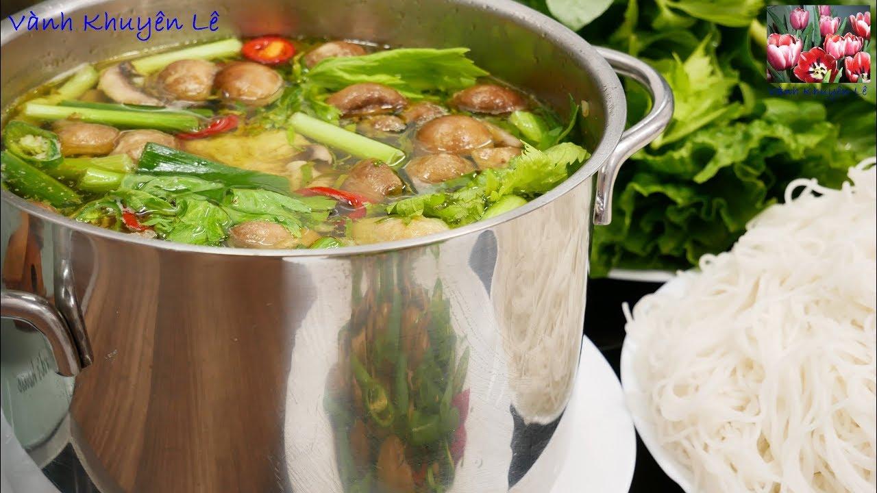 LẨU GÀ NẤU SẢ – Cách nấu Món Lẩu Gà sao thơm ngon đậm vị – Món ngon đãi tiệc by Vanh Khuyen