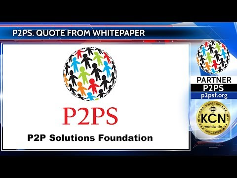 Quote from P2PS Whitepaper