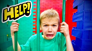 I Put My BrOtHer In Lego JaiL For CHeATING!