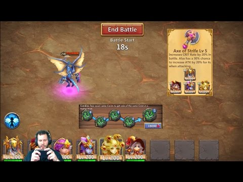 ArchDemoN 1.2 Billion Damage Explaining Set Up Crests Artifacts Castle Clash