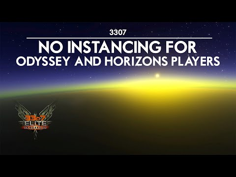 3307 Elite Dangerous -  Thargoid FPS? Odyssey and Horizons Instancing Restriction |