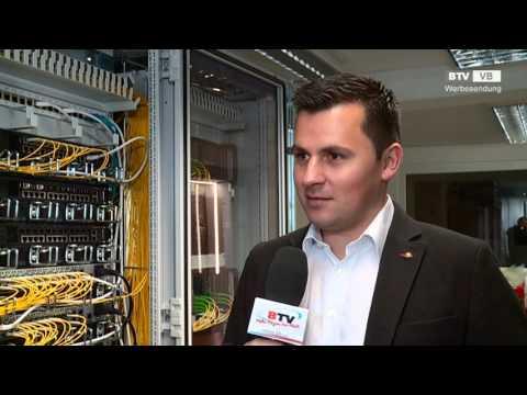 Anbindung an den DE-CIX in Frankfurt