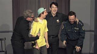 Cops and Crooks Debate Laurel Yanny (sketch)