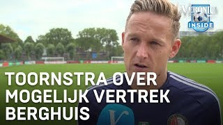 Jens Toornstra over eventueel vertrek Steven Berghuis