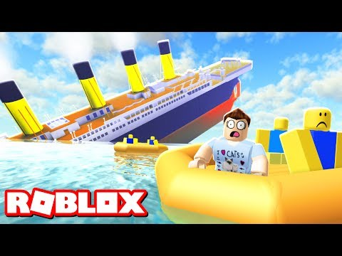 Thumbnail: SURVIVE A SINKING SHIP IN ROBLOX