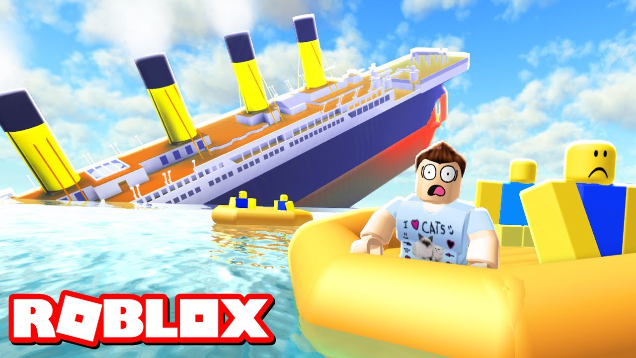 Survive A Sinking Ship In Roblox Youtube