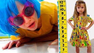 Настя хочет быть выше kids wants to be taller & go to the disco