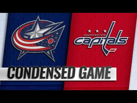 01/12/19 Condensed Game: Blue Jackets @ Capitals