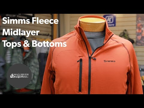 Simms Fleece Midlayer Tops & Bottoms
