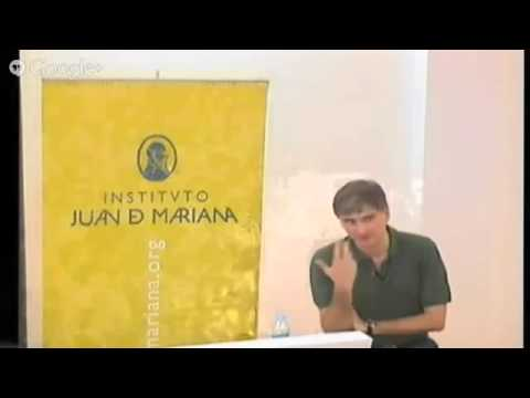 Conferencia Francisco García Paramés en Instituto Juan de Mariana