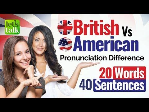 British English VS American English Pronunciation – Accent Training course   English Speaking Lesson
