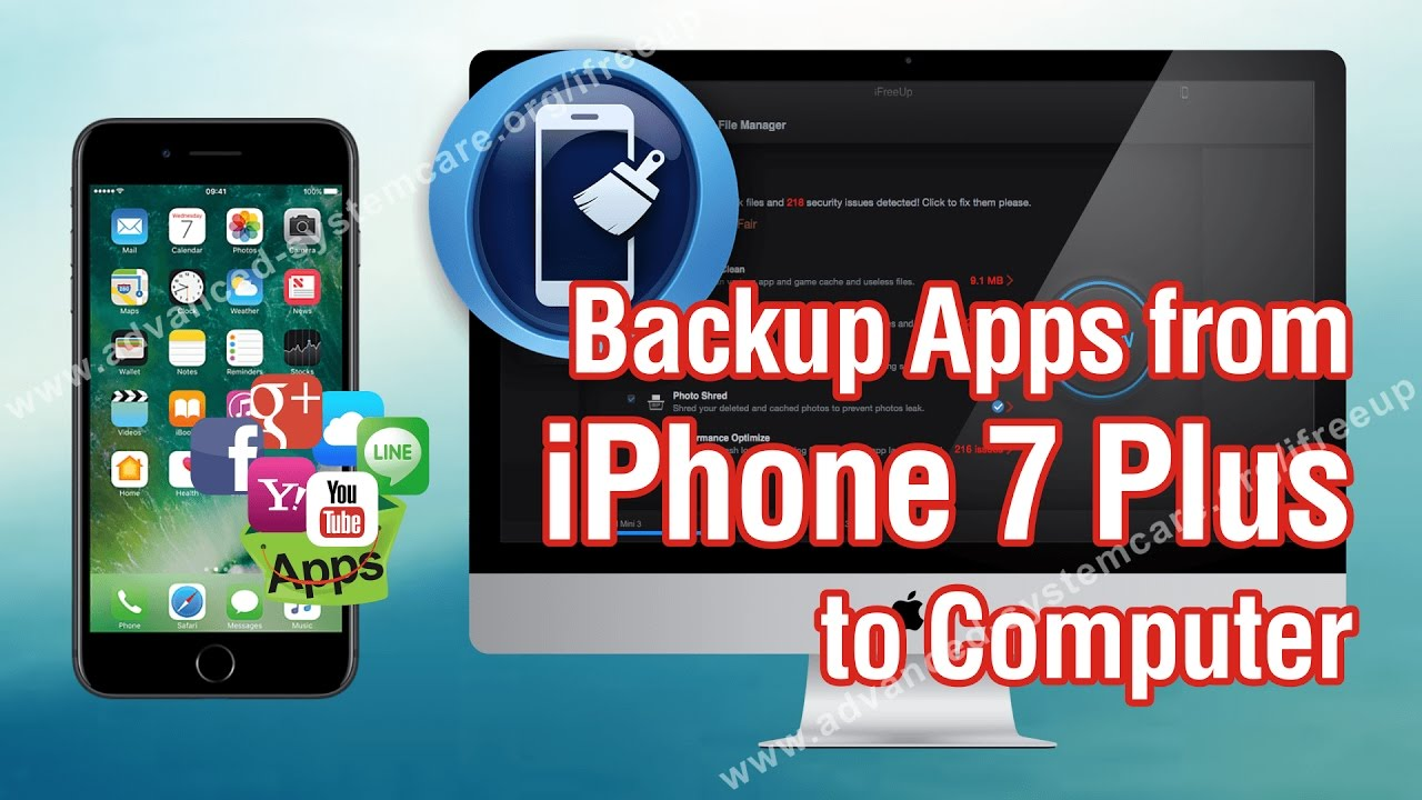 how to backup apps from iphone 7 plus to computer without itunes
