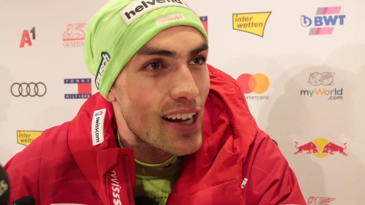 Daniel Yule Vainqueur Du Slalom De Kitzbuhel Youtube