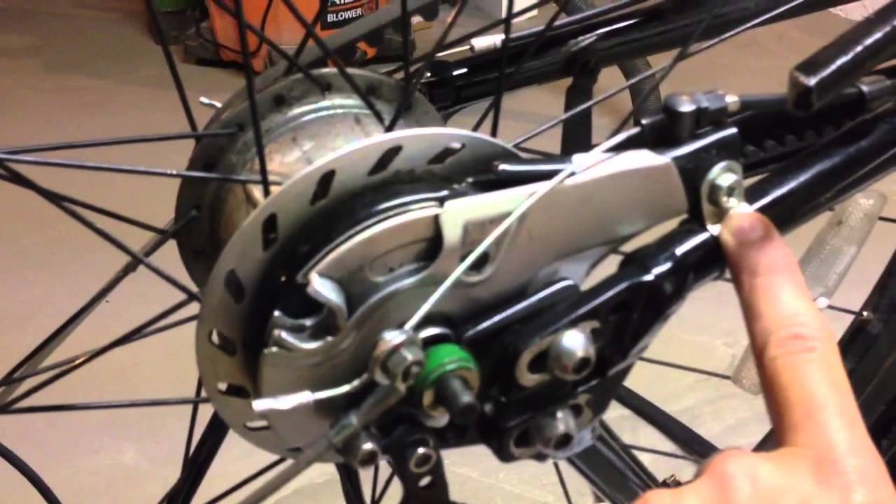 Belt drive bike internal hub