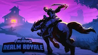 PALADINS BATTLEGROUNDS BATTLE ROYALE  REALM ROYALE