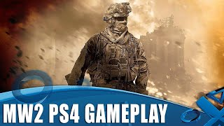 Modern Warfare 2 Campaign Remastered - 73 Minutes of PS4 Gameplay